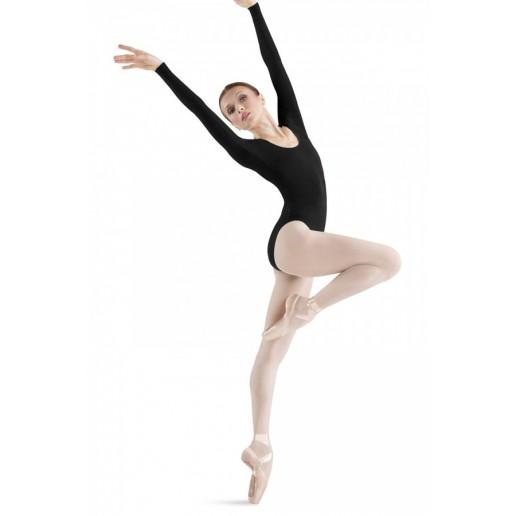 Bloch costum de balet cu maneci lungi pentru femei