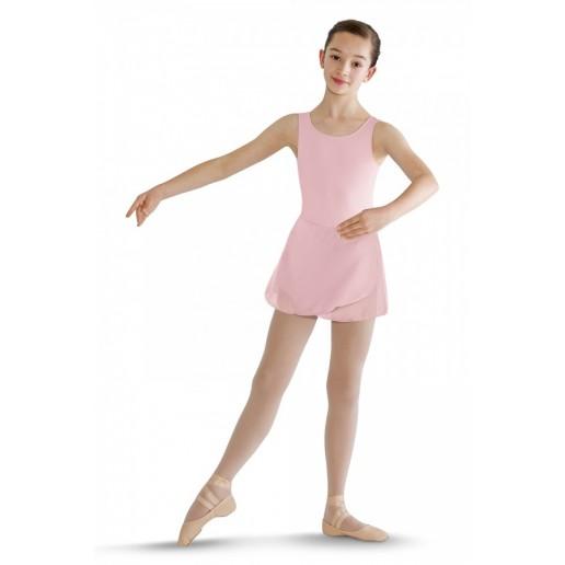 Bloch costum de balet cu bretele late cu fusta