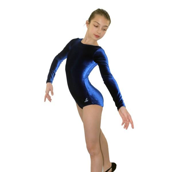 Bloch Leo Velvet, costum de gimnastica pentru copii