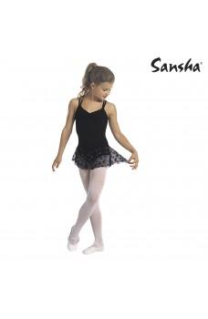 Sansha Jodie Y1703C, costum de balet cu fustă