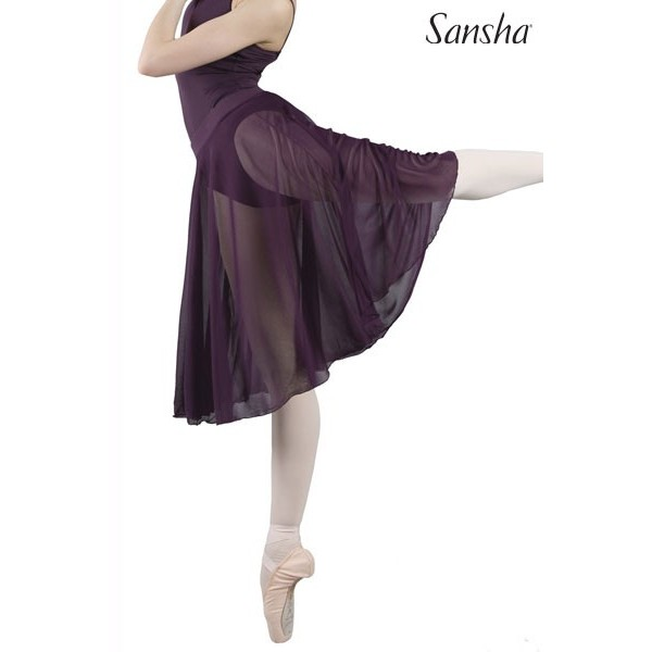 Sansha Misti 1, fustă de balet de lungime medie