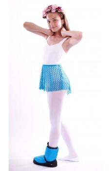Capezio pull on jacquard, fusta de balet