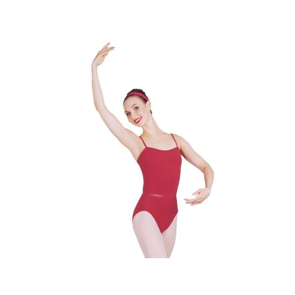 Capezio CAD100B, costum de balet cu bretele si curea