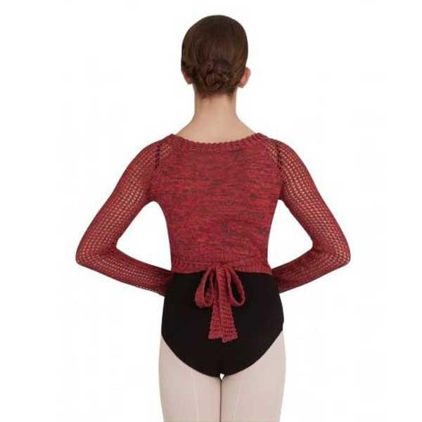 <span style='color: red;'>Prodej skončil</span> Capezio Crop Wrap Top CK1000W, top tricotat