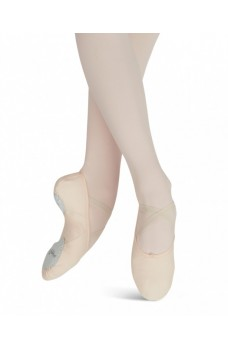 Capezio Canvas Juliet, demi-poante
