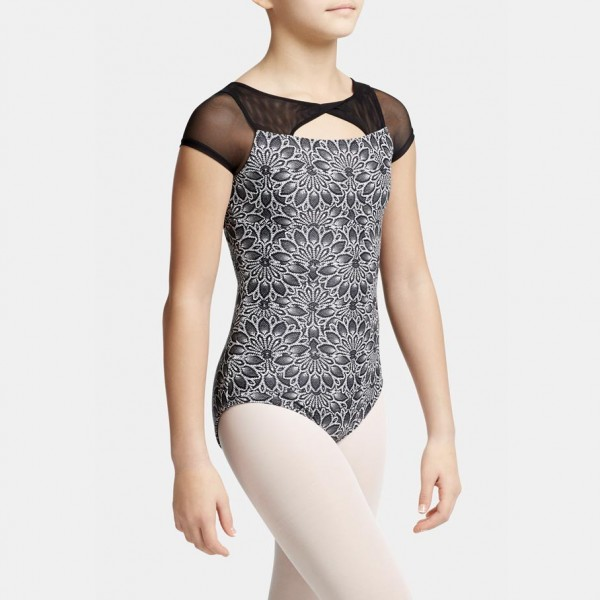 Capezio Poetry cap sleeve, costum de balet pentru copii