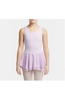 Capezio costum de balet cu fustă dublă