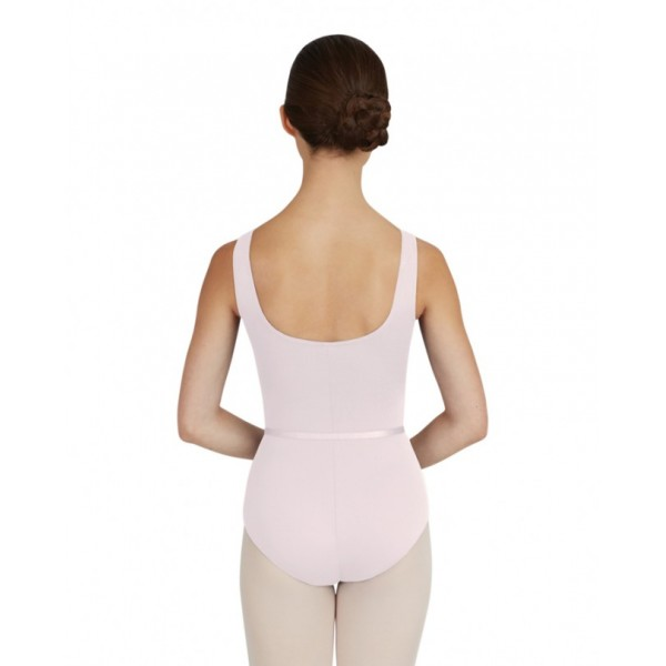 Capezio Tactel V Neck Leotard, costum de balet cu bretele late
