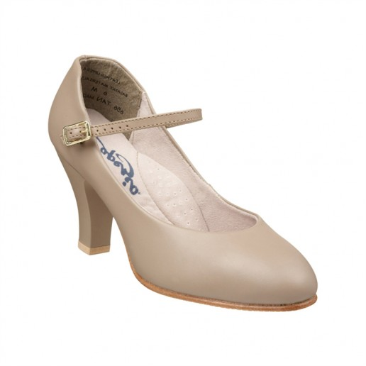 "Capezio Theatrical Footlight 3"", pantofi de caracter"
