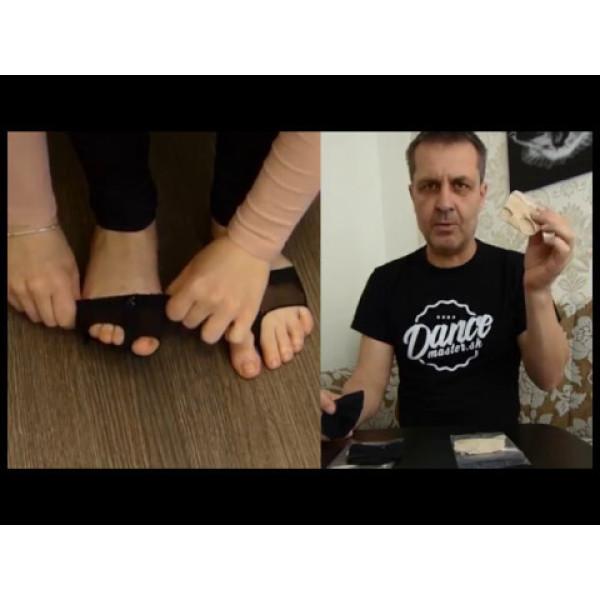 Capezio Jelz footUndez H07G, manuși de picior pentru copii