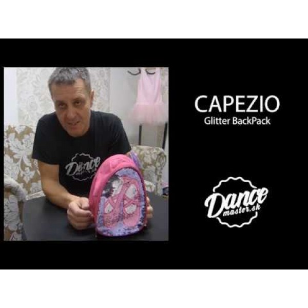 Capezio Glitter BackPack, rucsac
