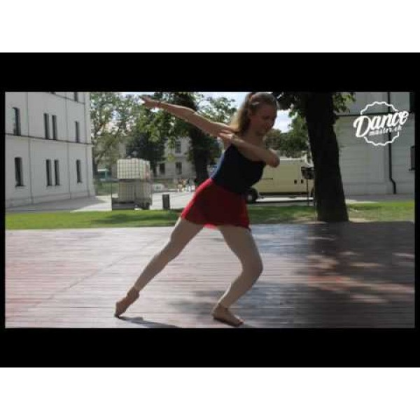 Capezio Camisole CC110B BraTek, costum de balet cu sutien