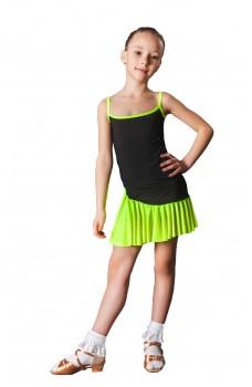 Fustă pentru copii dansuri latino Basic