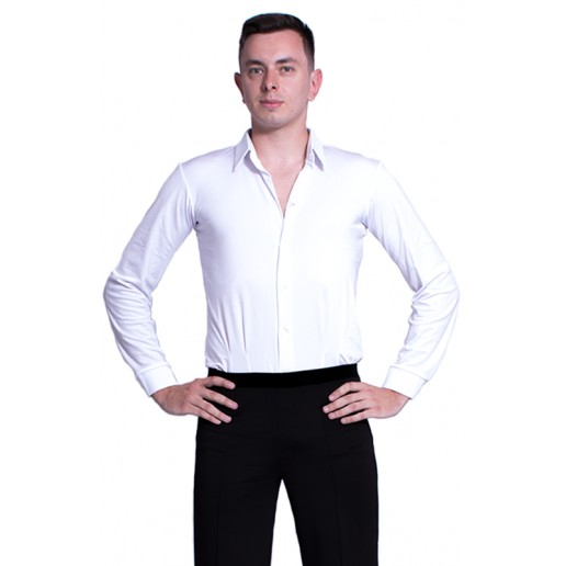 Cămașă pentru dans de societate pentru bărbați basic 700