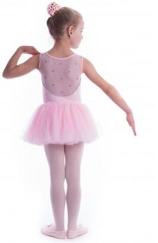 Bloch Coralina, dres pentru copii cu fustiță tutu