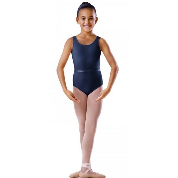 Bloch BU201C, costum de balet cu maneci scurte