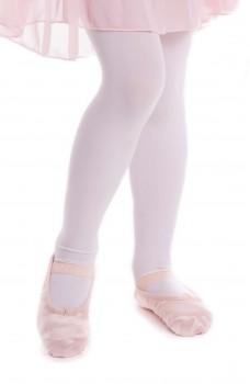 Capezio Satin Daisy, flexibili de saten pentru copii
