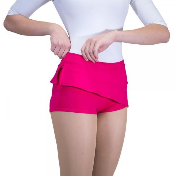 Capezio Team basic skirt, fustă cu pantaloni scurţi