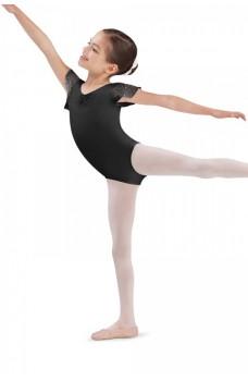 Bloch CL3732 Scarlett, costum de balet cu mâneci scurte