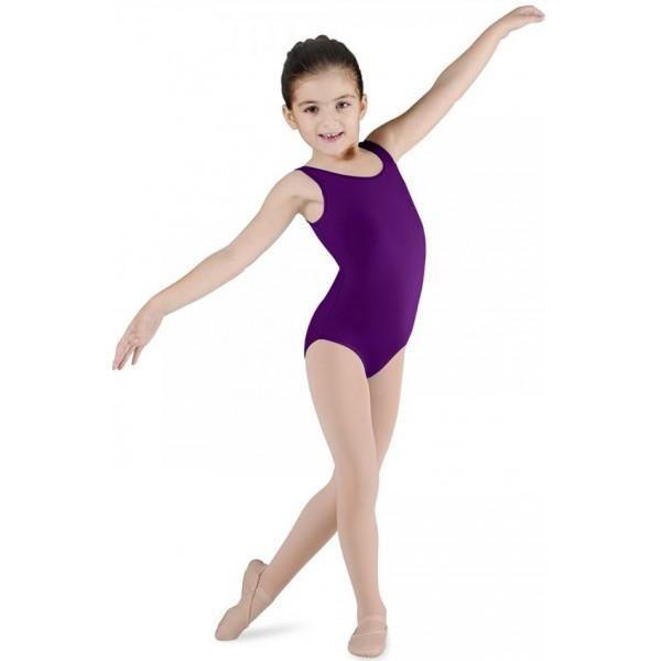 Bloch Dynamic, costum de balet cu bretele late pentru copii