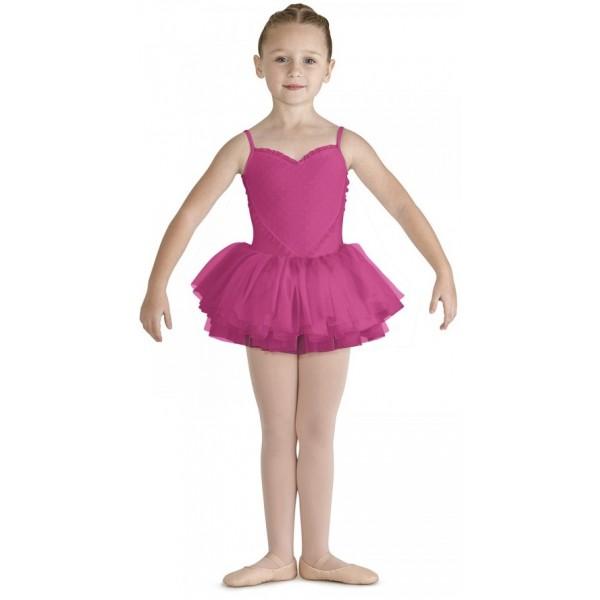 Bloch Valentine, costum de balet pentru copii cu fustă tutu