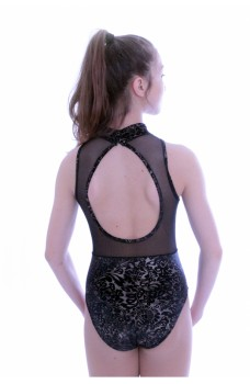 Capezio Damask High Neck, costum de balet