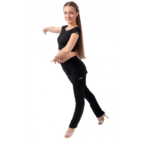 Pantaloni de trening  damă, dansuri latino