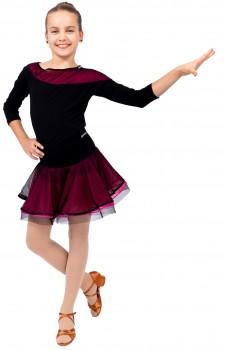 Top cu mânecă trei-sfert pentru fetiţe
