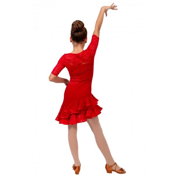 Rochita  copii pentru dansuri latino Basic