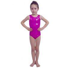 Bloch Leos Foil Tank, costum de gimnastică pentru copii