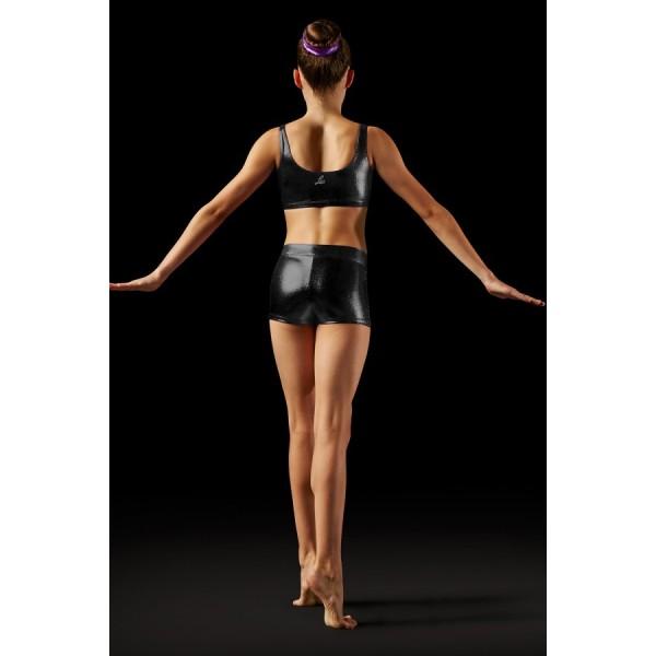 Bloch Leos Foil V-front Short, pantaloni scurți pentru femei