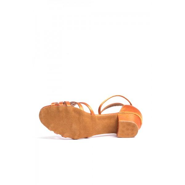 Dansez Vous Alba, pantofi de dans latin cu calcai jos