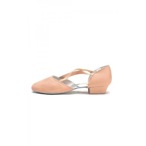Sansha Alba, pantofi din piele pentru educatori