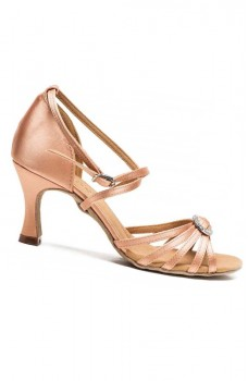 Sansha Barbara BR31038S, pantofi de dans latino
