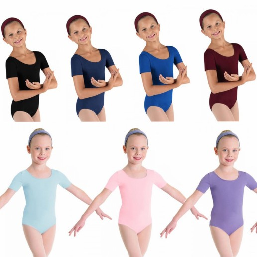 Bloch Ballet, costum de balet cu mâneci scurte