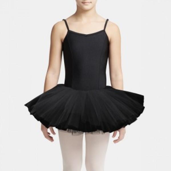 Capezio Tutu Leotard, costum de balet pentru copii cu fusta tutu