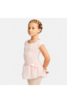 Capezio Cap Sleeve dress, costum de balet cu fusta