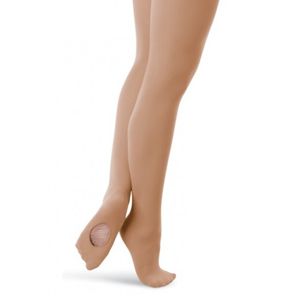 Capezio ultra soft transition tights, ciorapi convertibili pentru copii
