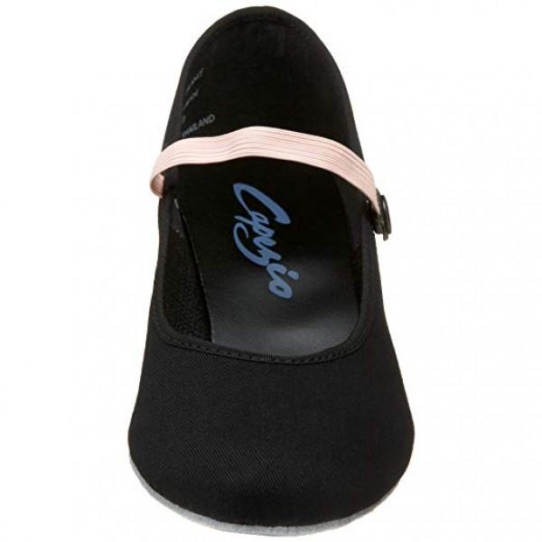 Capezio Academy character, pantofi de caracter din pânză pentru copii