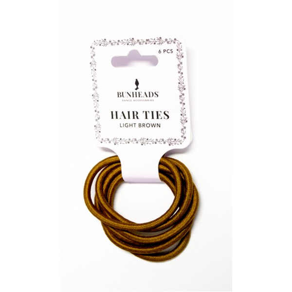 Capezio Bunheads hair Ties, elastic de păr