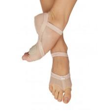 Capezio Full Body footUndeez Foot Thongs, flexibili cu calcai