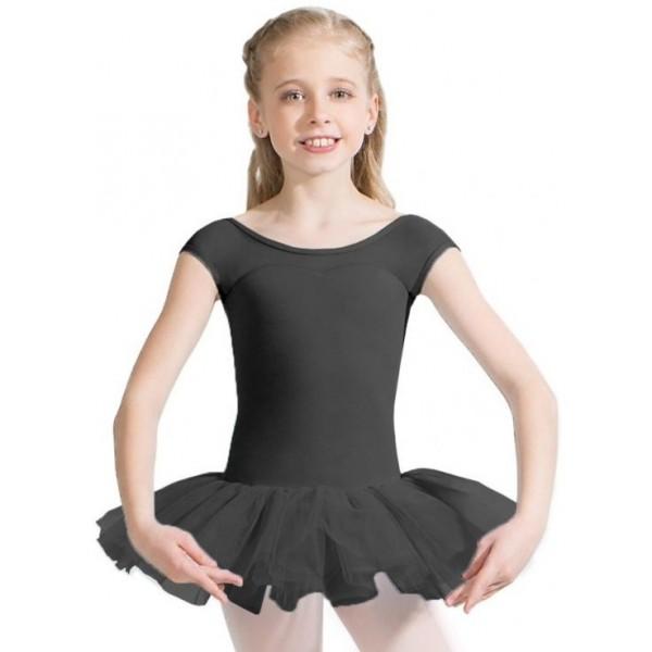 Capezio Keyhole Back Tutu Dress, costum de balet pentru copii cu fusta tutu