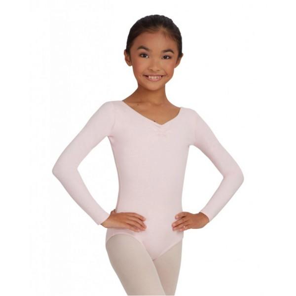 Capezio costum de balet cu mânecă lungă