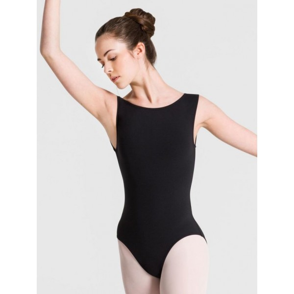 Capezio Meryl boatneck Leotard, costum de balet