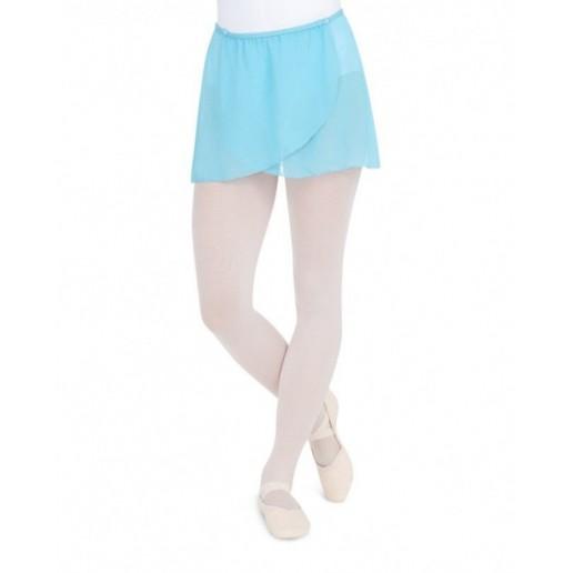 Capezio button wrap skirt, fustiţă de balet pentru fetiţe