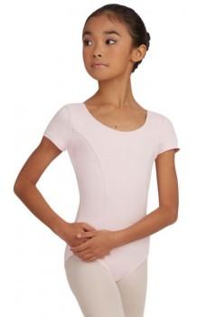 Capezio princess, costum de balet pentru copii cu maneca scurta