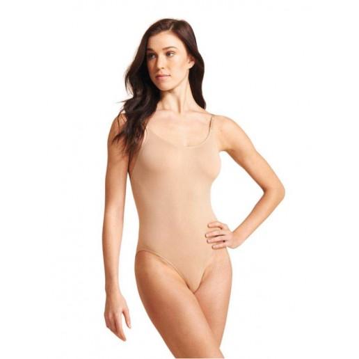 Capezio Low back Seamless camisole 3681, costum de jos