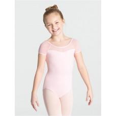 Capezio swiss dot keyhole back, costum de balet pentru copii