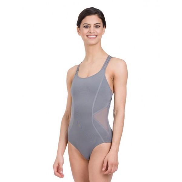 Capezio Tech mesh insert Camisole Leotard, costum de balet