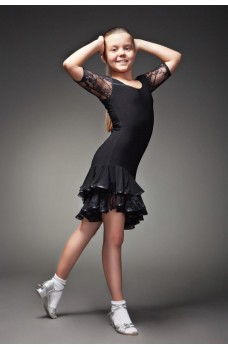 Rochita  copii pentru dansuri latino 216